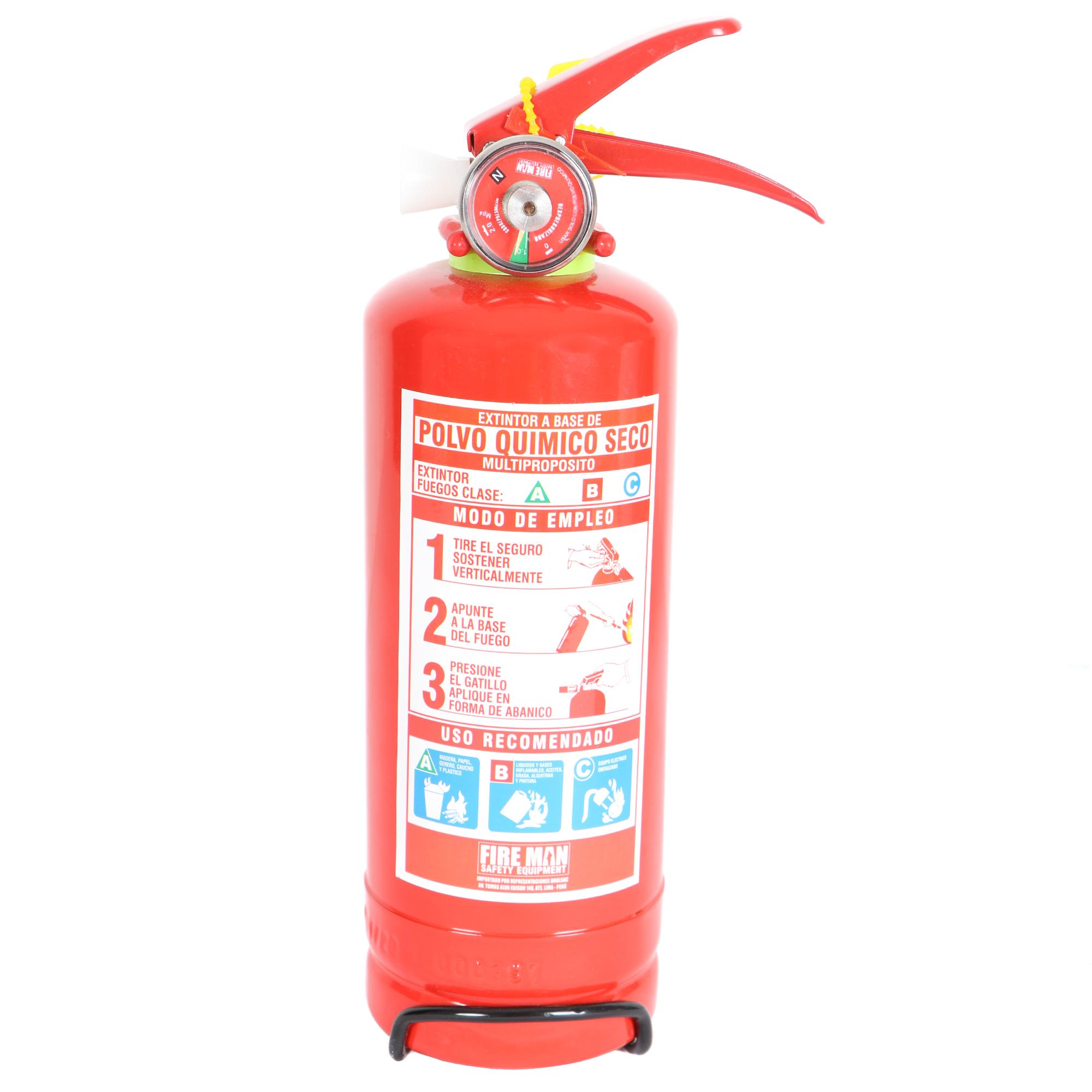 Extintor PQS 1 Kg
