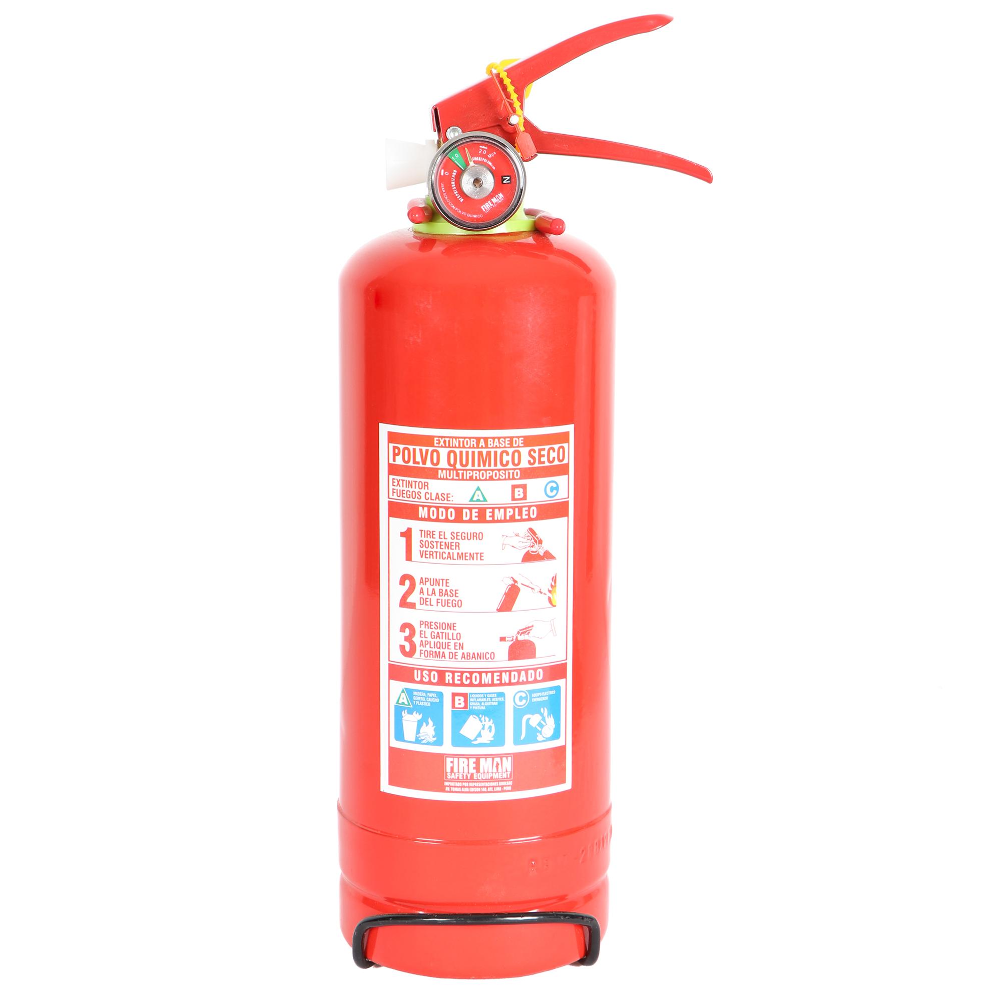 Extintor PQS 2 Kg