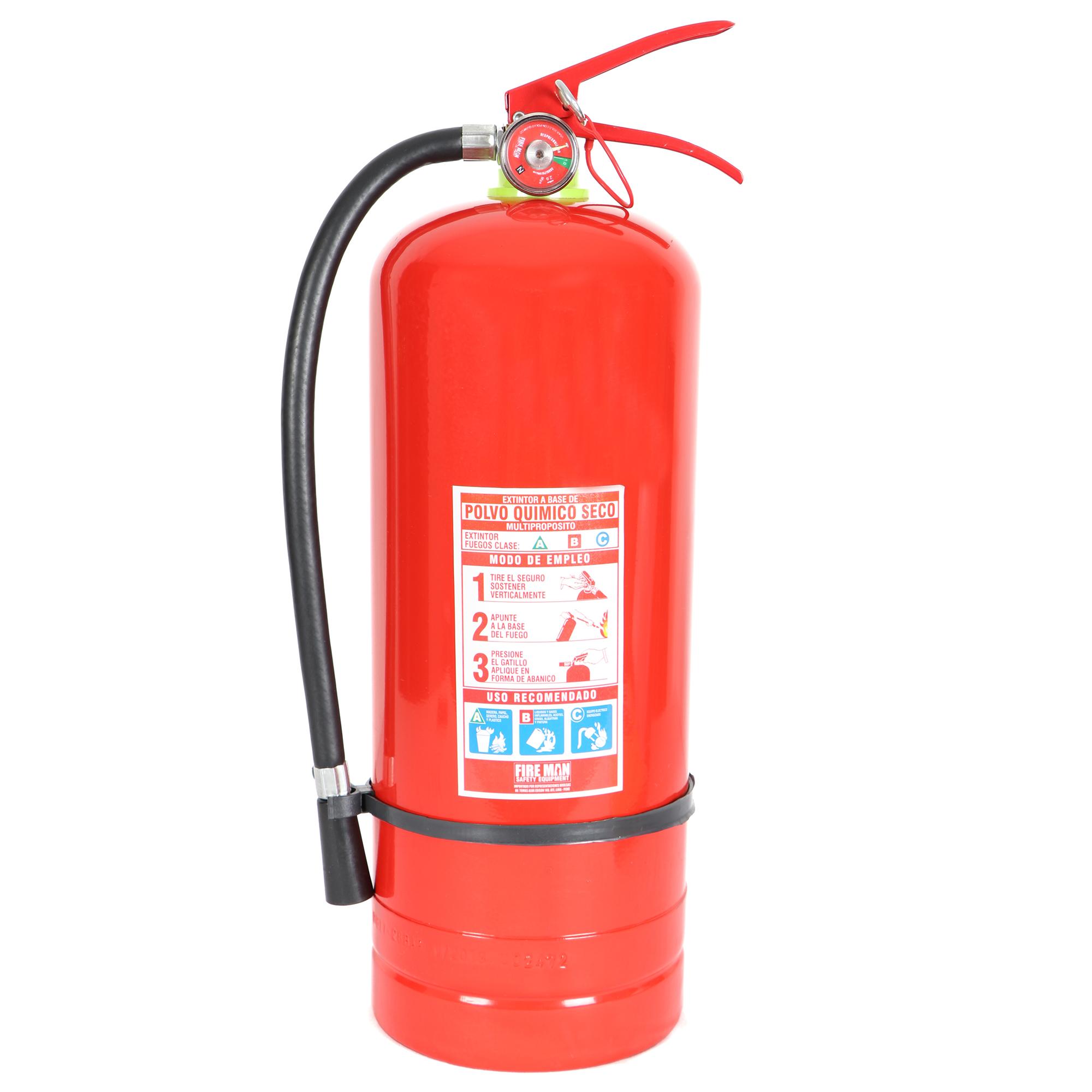 Extintor PQS 6 Kg